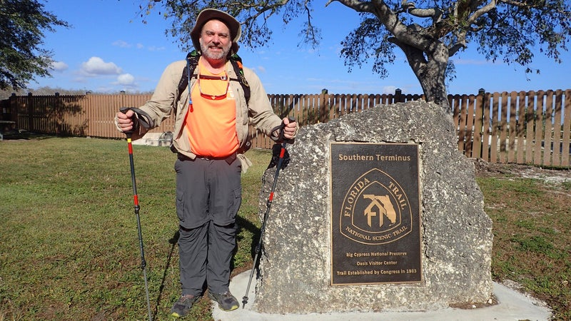 The Florida National Scenic Trail might sound easy. It's not.