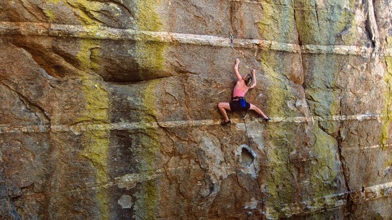 Climbing on Mount Lemmon