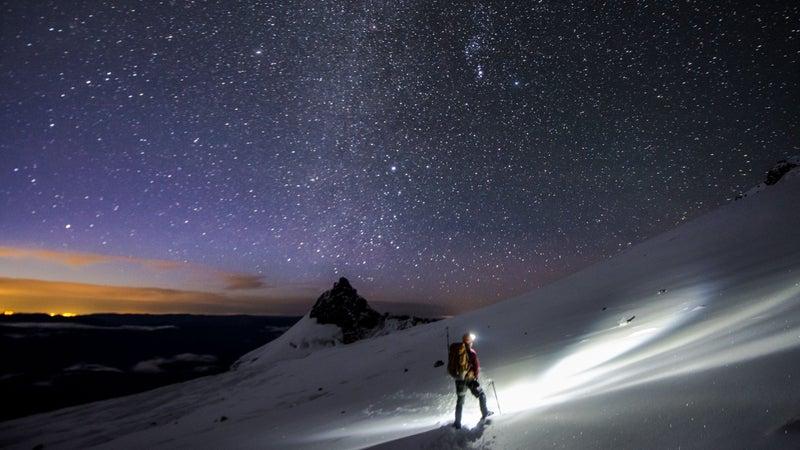 Cetindemir on Mount Rainier