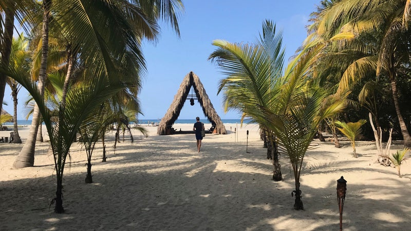 Beach resorts are popping up on Colombia's Caribbean coast.