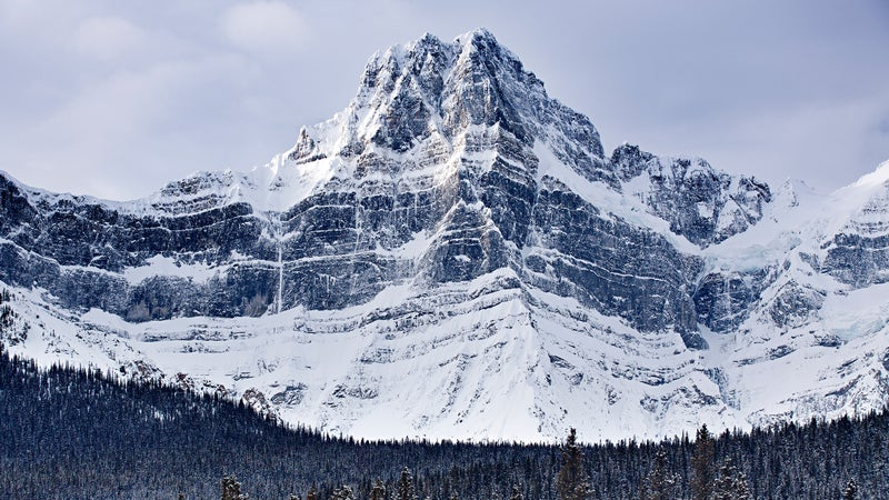 The east face of Howse Peak