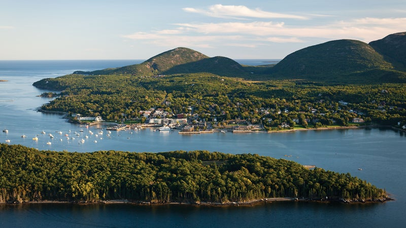 Hike, sail, and eat lobster on Maine's Mount Desert Island.