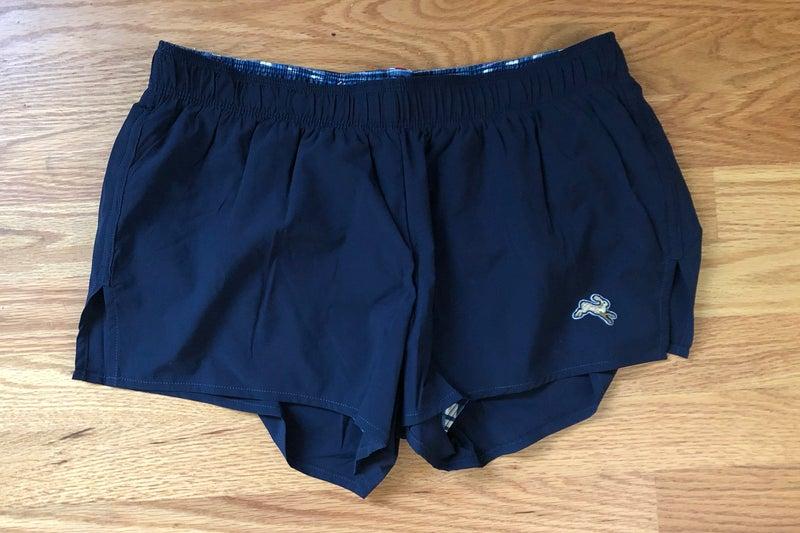 tracksmith women's short shorts