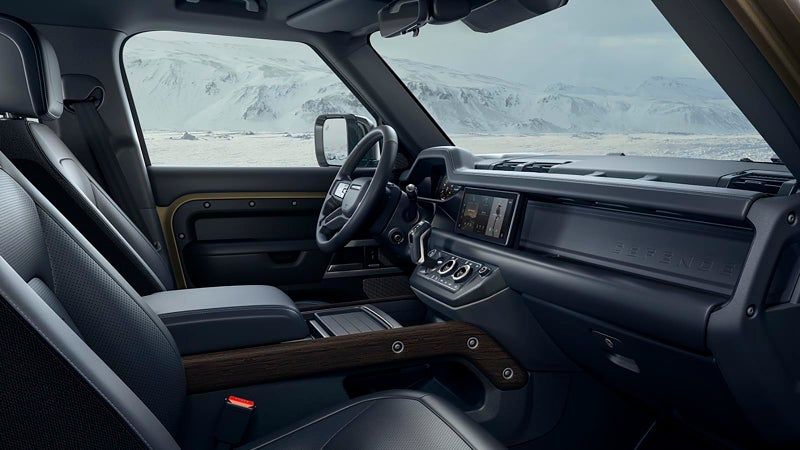 No one does interior better than Land Rover.