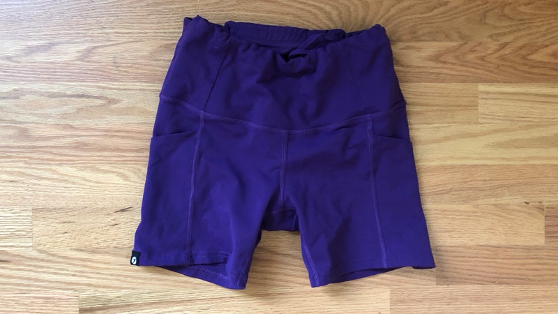 Oiselle compression shorts