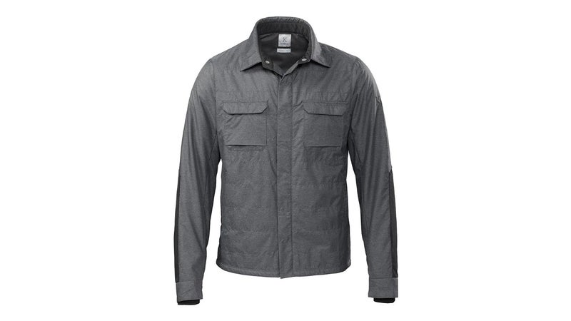 Looks like a shirt, insulates as good as anything listed above.