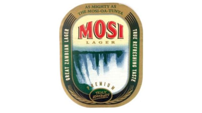 Mosi Lager's vintage label
