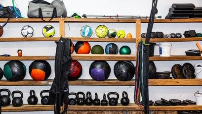 ReStart's well-stocked gym