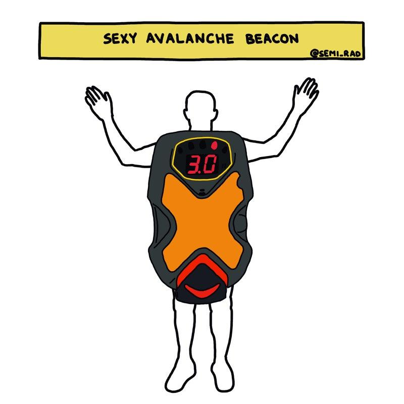 Avalanche Beacon Costume