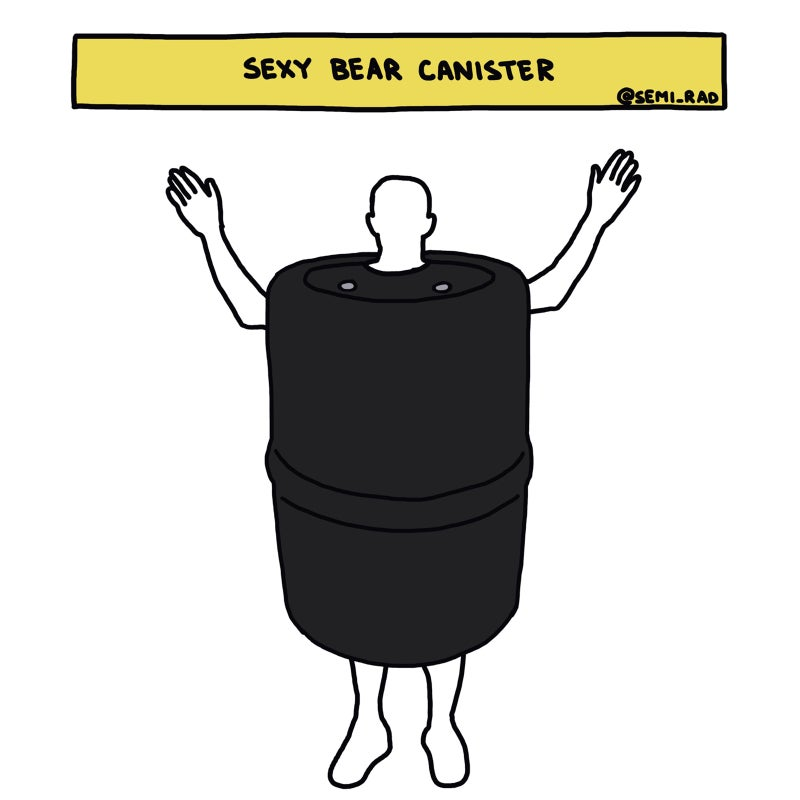 Bear Canister Costume