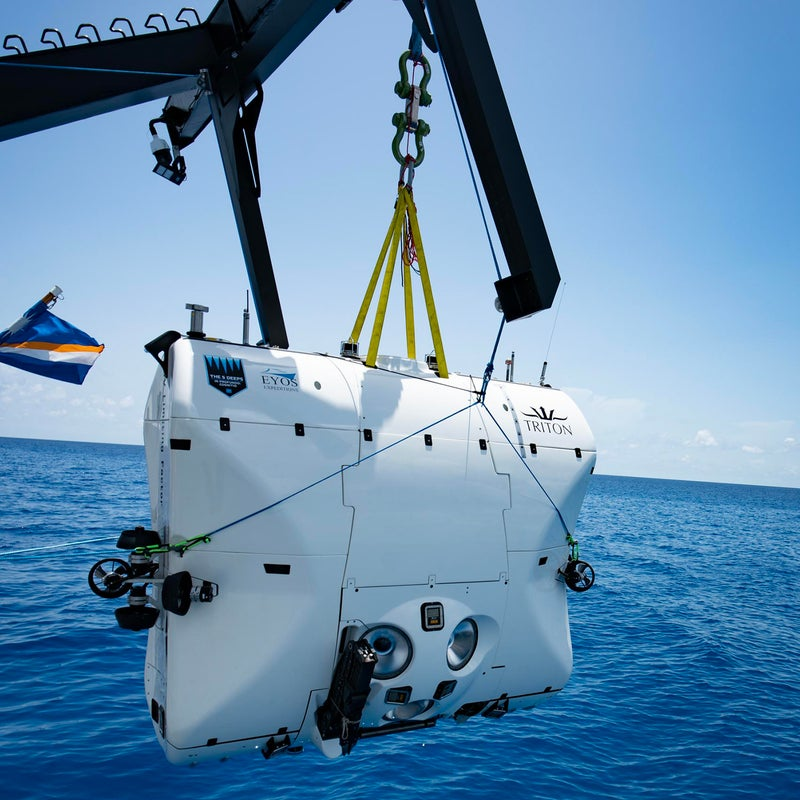 The Limiting Factor is to shallower-diving submersibles what the Space Shuttle is to a Cessna.