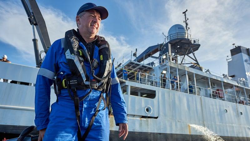 Expedition leader Rob McCallum