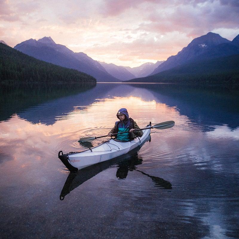 Location: Bowman Lake, Glacier National Park | Camera: OM-D E-M1X | Lens: M.Zuiko Digital ED 12-40mm F2.8 PRO | Settings: ISO 1000, 12mm, f2.8, 1/1000 sec