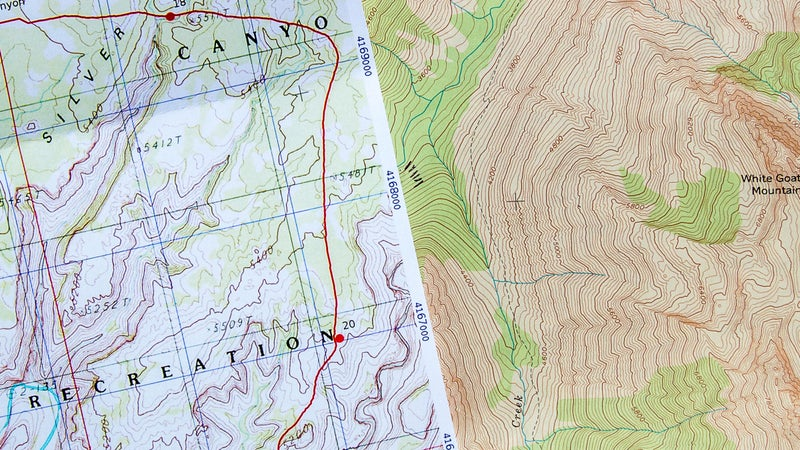 The natural scale of 7.5-minute quads is 1:24,000, so topographic detail is much clearer. This series is the gold standard for topographic maps in the U.S. and ideal for precise navigating.