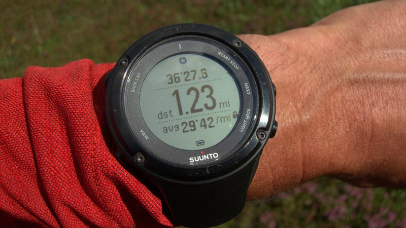 Select GPS sport watches, like the Suunto Ambit3 Peak, offer the features of an ABC watch plus much more, including tracking distance, pace, and vertical change.