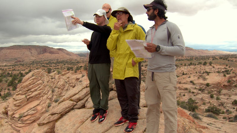 In a trailless wilderness like Utah's Grand Staircase–Escalante, I use my magnetic compass extensively.