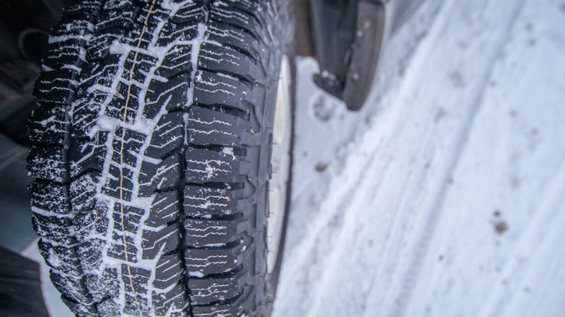 These Falken A/T Trails will provide all the grip and puncture resistance a crossover could ever need. And because they're designed to support only just enough weight, they're flexible, too, and that will help with both ride quality and grip.