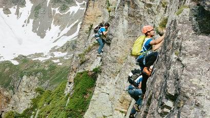 Mixed-terrain climbing