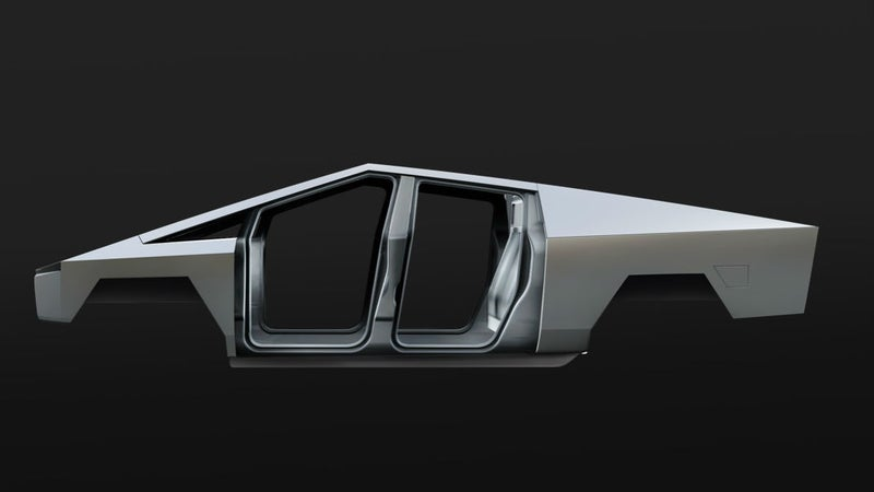 The stainless steel monocoque frame/body is very Delorean, but also very functional.