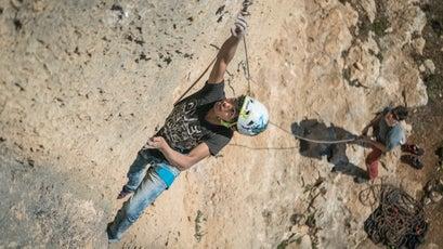 Rock Climbing in Palestinian West Bank