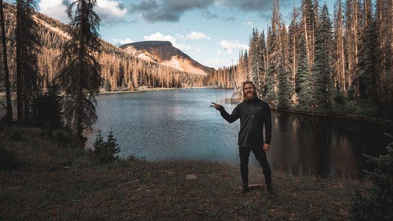 Posner in Rio Grande National Forest, in southwest Colorado