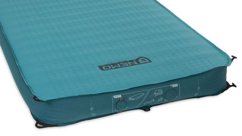 Four inches thick, with vertical sidewalls and a totally flat sleep surface, the Roamer is as comfortable as sleeping outside can get.
