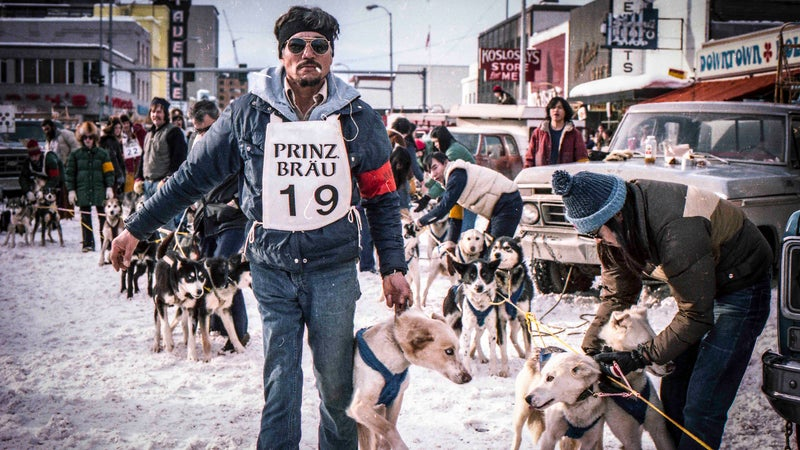 George Attla was the first (and probably only) rock star of the dogsled world.