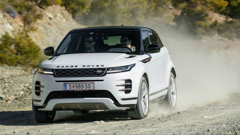 With excellent traction and compliant suspension, the Evoque is an ideal companion on unpaved roads.