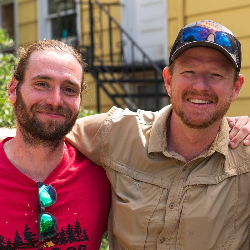 Jeremy McDonald (left) and Trey Cate