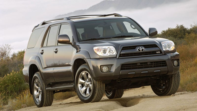 The 2003-2009 4Runner V8 included full-time four-wheel drive, a feature that's since been removed from most current-generation 4Runners due to cost cutting.