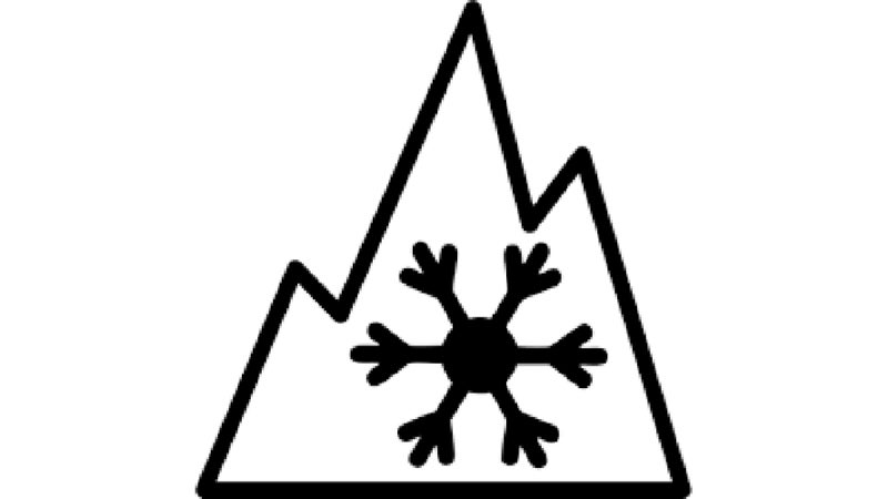 This is the Three Peak Mountain Snow Flake symbol. If it's displayed on the sidewall, then that tire has demonstrated some limited ability to provide grip on packed snow.