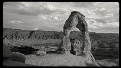Delicate Arch in Arches National Park, 1981