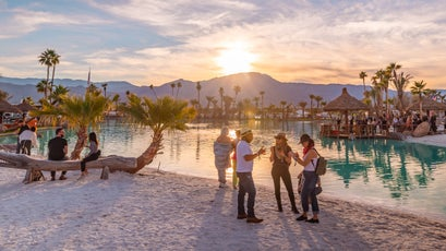 4xFAR was held at the Empire Grand Oasis, the newest and most stunning desert venue to emerge in years, located in the heart of the Coachella Valley