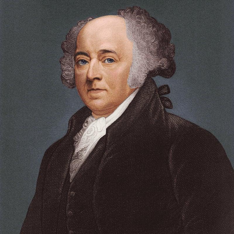 John Adams circa 1790. Adams wrote America's first presidential memoir shortly after leaving office.