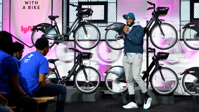 Lyft partners with LeBron James and UNINTERRUPTED to announce the new LyftUp initiative expanding transportation access for communities in need.