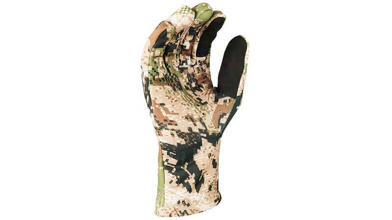 These thin fleece Traverse gloves from Sitka are good at blocking wind and rain and even deliver good feel, but they just aren't quite warm enough for winter wear.