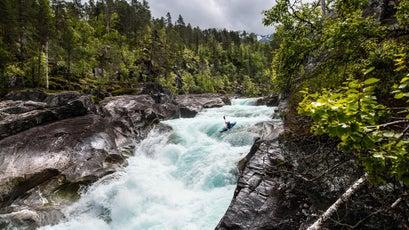 Paddling Norway's Raundalselva River