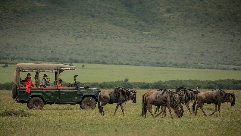 Outside GO's 11-day Kenya safari