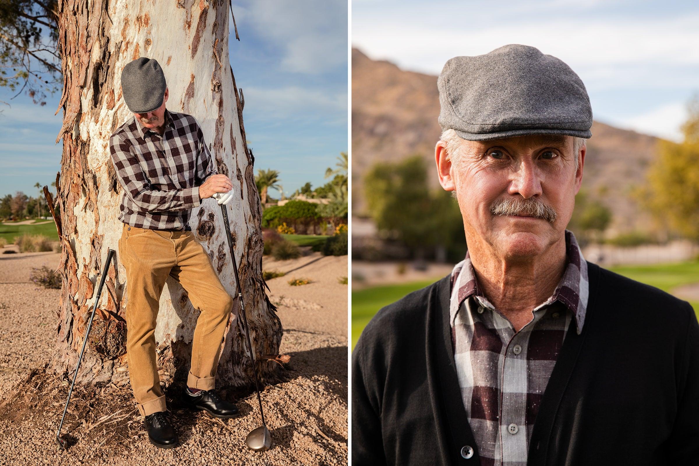 The author at the Phoenician Golf Club, Scottsdale, Arizona