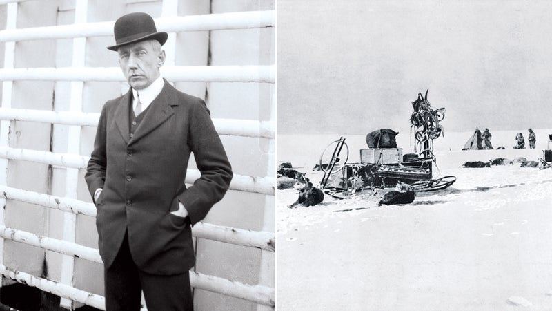 Portrait of Raold Amundsen