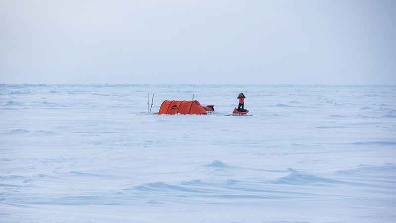 Polar explorer Eric Larsen has learned quarantine-coping techniques from his many Arctic expeditions over the years.