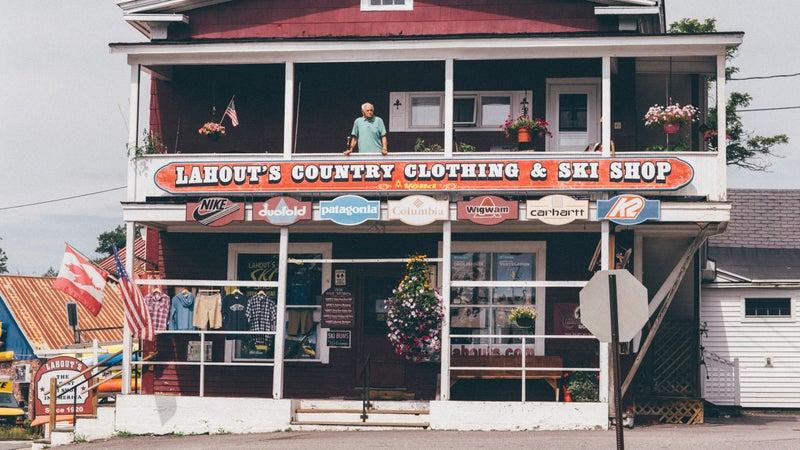 Lahout's ski shop