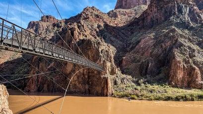 Colorado River historic bridge