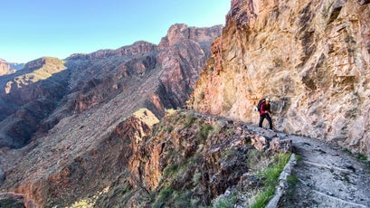 Backpacking Bright Angel Trail