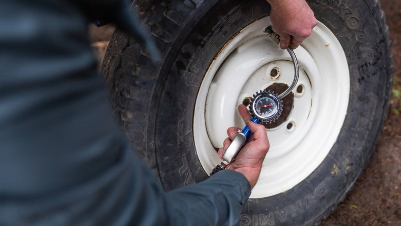 If your tire holds air up to the recommended pressure, then odds are it's going to be good to go. Just check the pressure again after a few miles to make sure. If for some reason you're losing a little air around the plug, try adding Fix-a-Flat.
