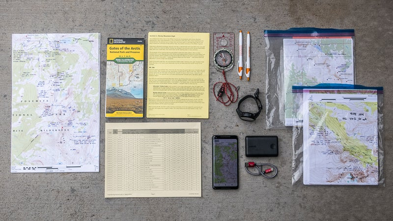 Here is a complete navigation system.