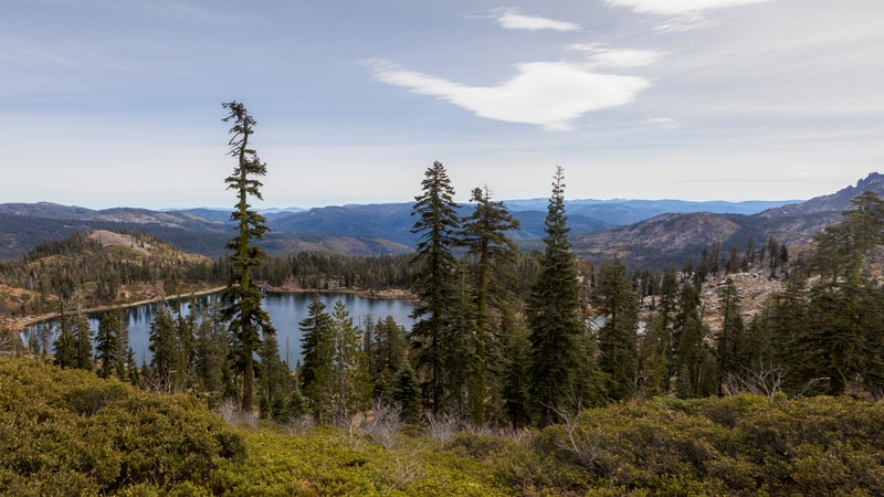 Deer Lake near Downieville.