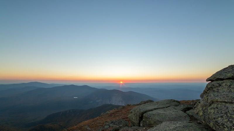 Mountian Sunset