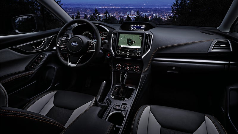 The interior remains unaltered for the 2021 model year, with the exception of yellow stitching on Sport and Limited trims.