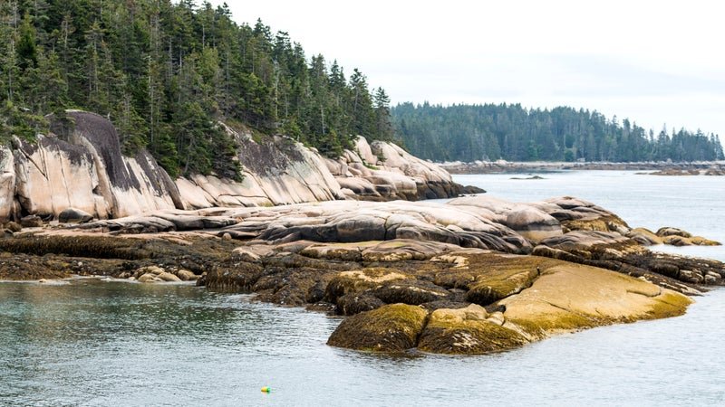 Vinalhaven Island from the water